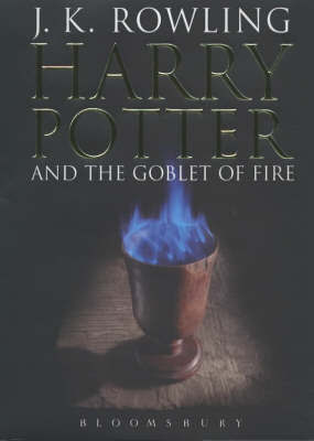 Harry Potter and the Goblet of Fire #4 (Adult Ed.) by J.K. Rowling image