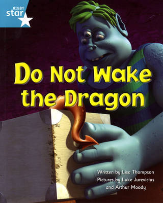 Fantastic Forest Turquoise Level Fiction: Do Not Wake The Dragon by Lisa Thompson