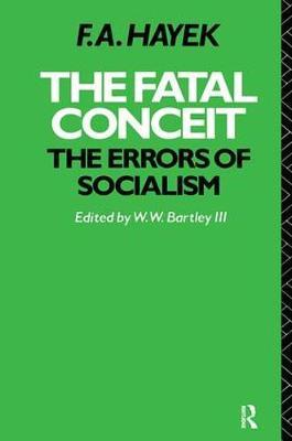 The Fatal Conceit by F.A. Hayek image