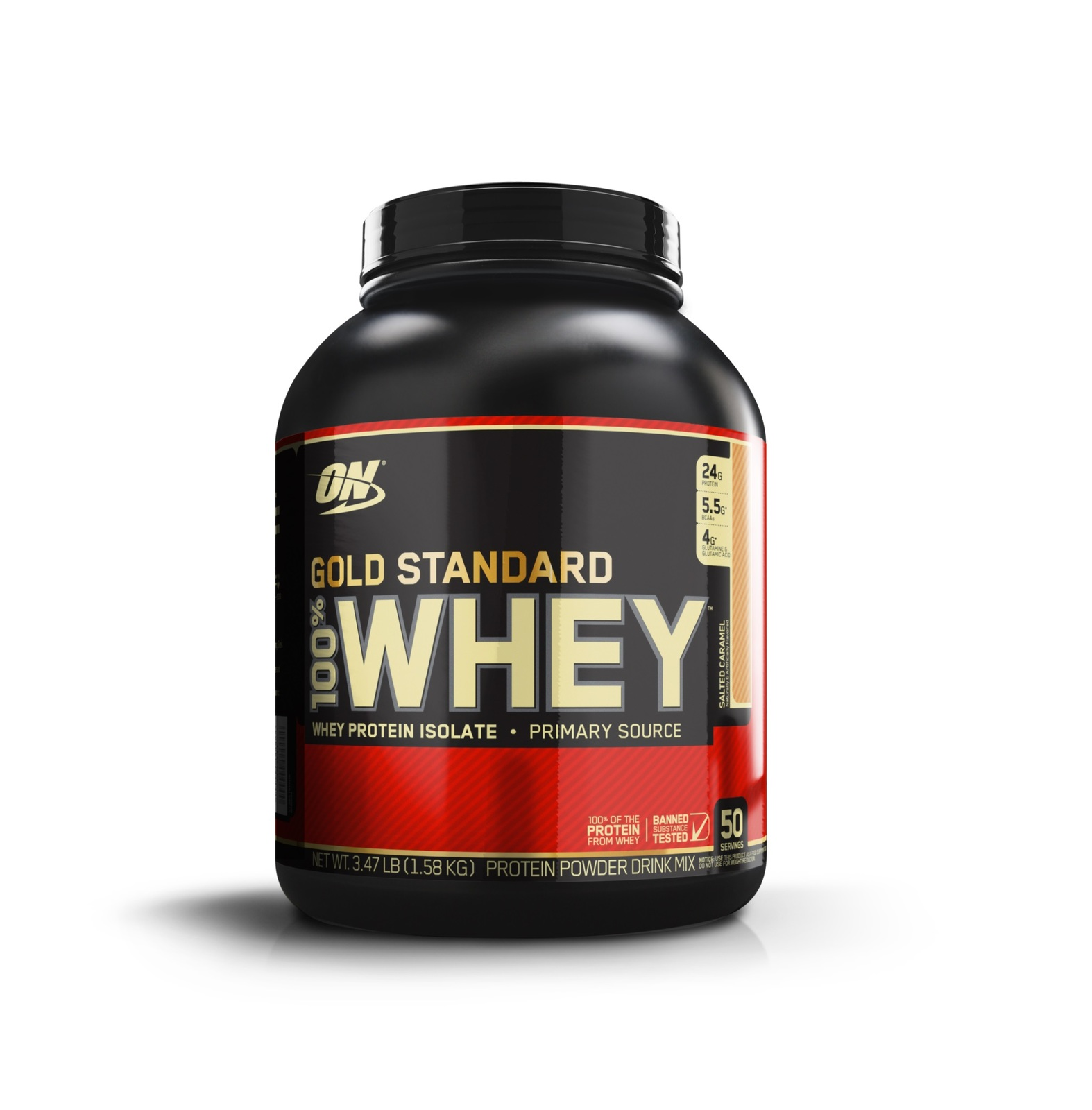 Optimum Nutrition Gold Standard 100% Whey - Strawberry Banana (2.27kg) image