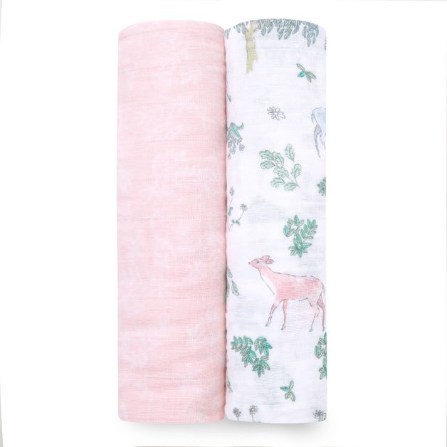 Aden + Anais: Classic Swaddle - Forest Fantasy (2 Pack)