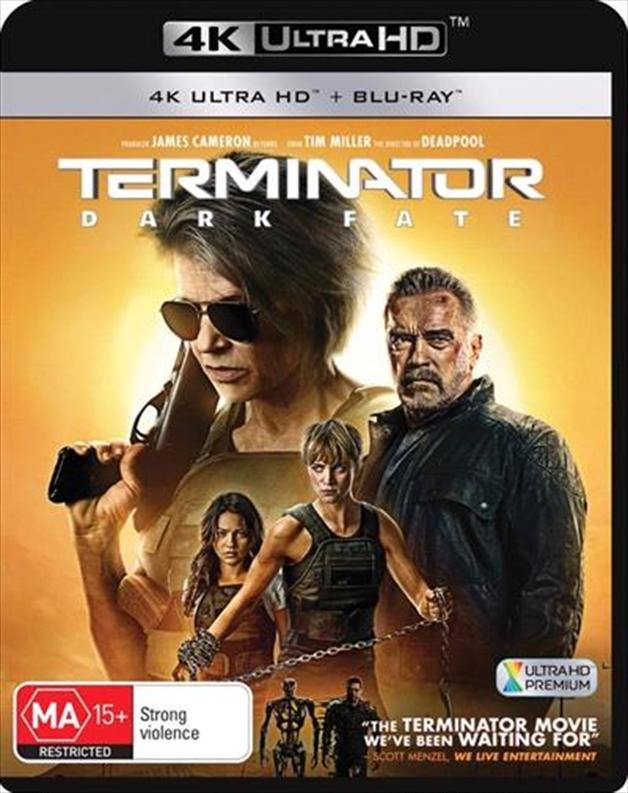 Terminator: Dark Fate on UHD Blu-ray