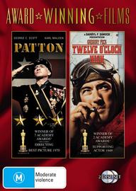 Patton / Twelve O'Clock High (Award Winning Films) (2 Disc Set) on DVD image