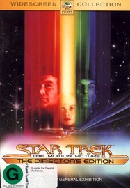 Star Trek: The Motion Picture Director's Edition on DVD image