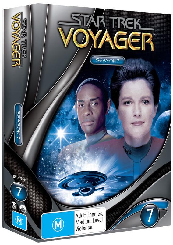 Star Trek: Voyager - Season 7 (New Packaging) on DVD