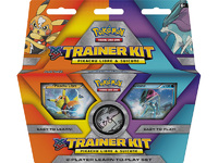 Pokemon TCG XY Trainer Kit Pikachu Libre and Suicune