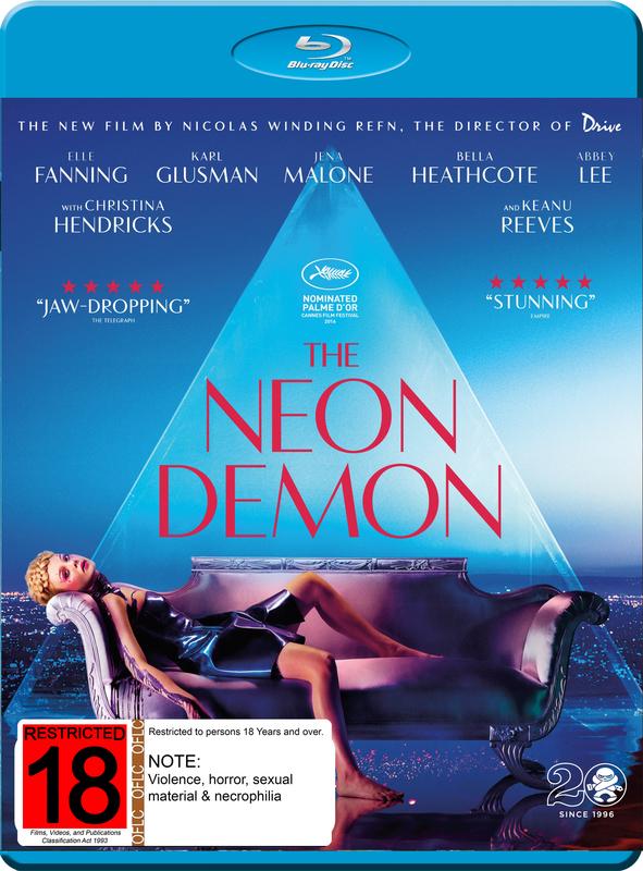 The Neon Demon on Blu-ray