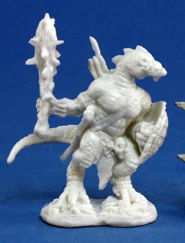 Dark Heaven Bones - Lizardman Warrior