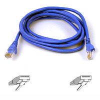 BELKIN 1m Snagless CAT 6 Patch Cable Blue image
