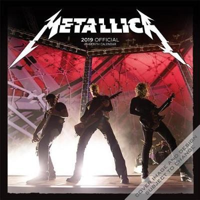 Metallica 2019 Square Wall Calendar by Inc Browntrout Publishers