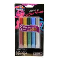 Elmers: Glitter Glue Pens - Classic (5 Pack)