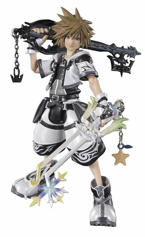Kingdom Hearts II: Sora Final Form - S.H.Figuart Figure P-Bandai Tamashii Exclusive