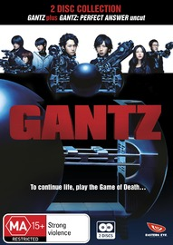 Gantz Movies 1 & 2 Collection on DVD