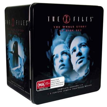 the x files the whole story box set dvd buy now at mighty ape australia. Black Bedroom Furniture Sets. Home Design Ideas