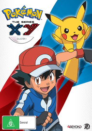 Pokemon: The Series X & Y - Collection 1 on DVD