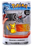 XY Pokémon Figures - 2 Pack - Pikachu vs Darkrai