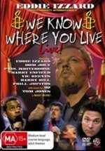 We Know Where You Live - Live! on DVD