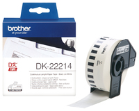 Brother DK-22214 Continuous Length Paper Label Tape (12mm x 30.48m)