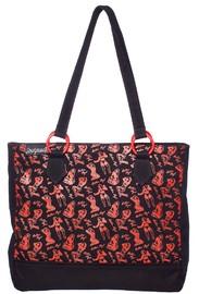 Sourpuss Bettie Page Tote Bag