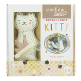 Seedling Littles: Royally Cute Kitty - Dress-Up Soft Toy