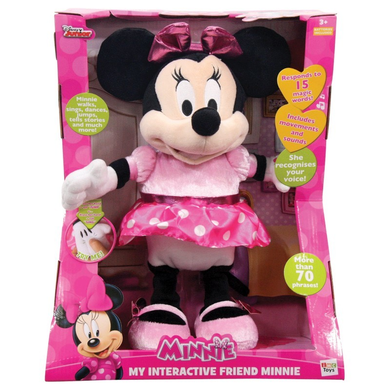 Disney: My Interactive Friend Minnie - Plush Toy image