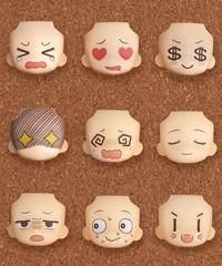 Nendoroid More: Face Swap 01 & 02 Selection: 1Box(Set of 9)