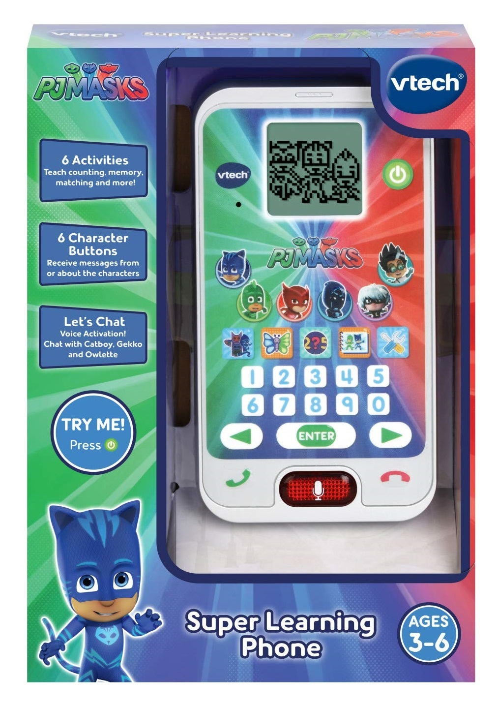 Vtech: PJ Masks - Super Learning Phone image