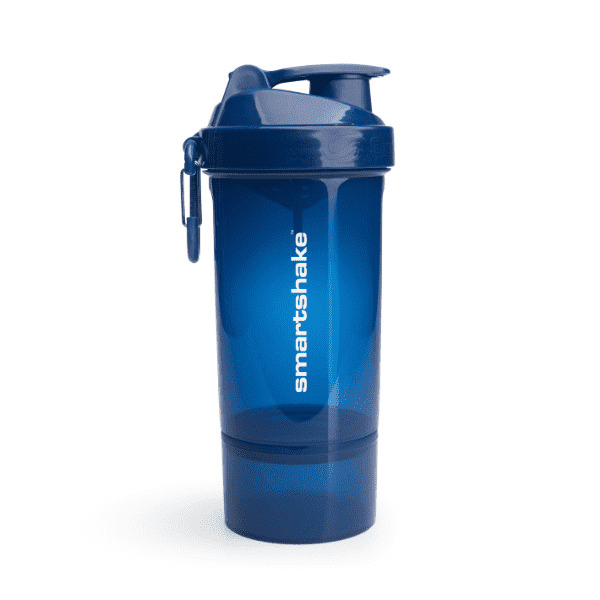Smartshake Original 2Go One Protein Shaker - Navy Blue (800ml)