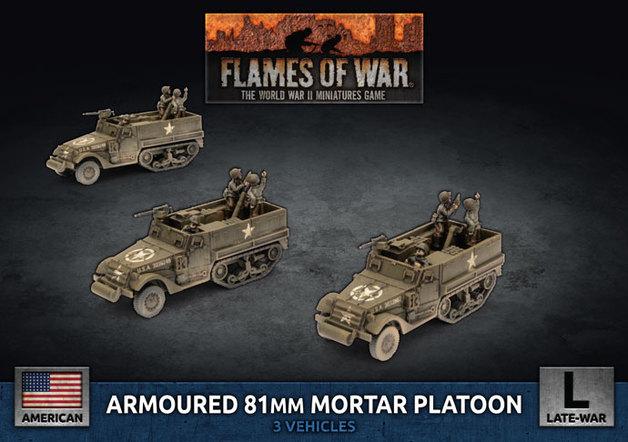 Flames of War: M4 81mm - Armoured Mortar Platoon