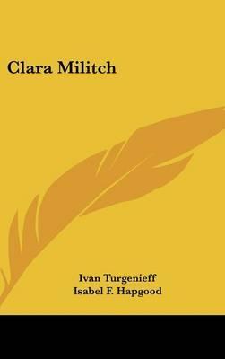 Clara Militch by Ivan Turgenieff image