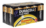 Duracell Power Plus D Economy (8 pack)