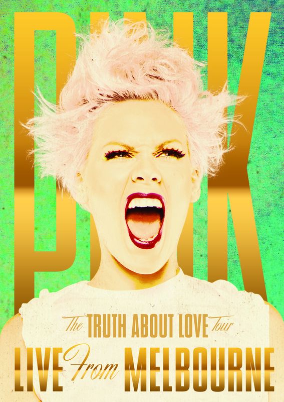 P!nk: The Truth About Love Tour - Live From Melbourne on DVD