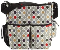 Skip Hop: Duo Signature Nappy Bag - Wave Dot