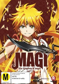Magi: The Kingdom Of Magic (Season 2) Part 2 (Eps 14-25) on DVD