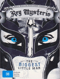 WWE - Rey Mysterio: The Biggest Little Man (3 Disc Set) on DVD image