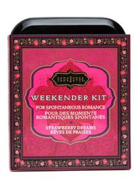 Kama Sutra Sensual Weekender Kit - Strawberry