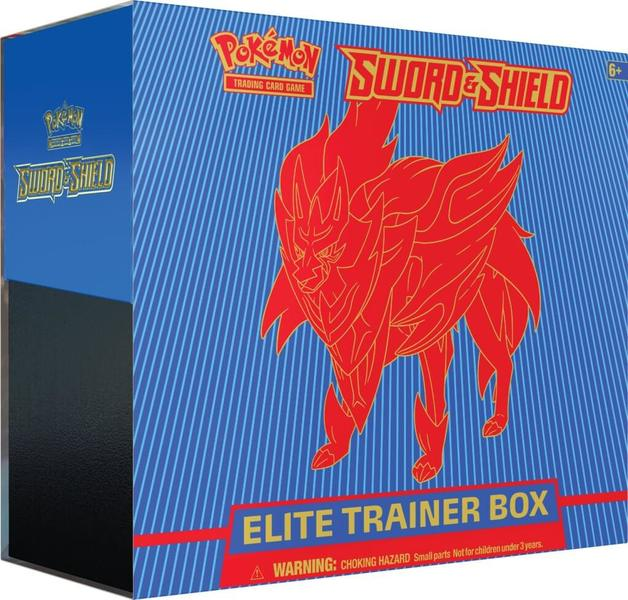 Pokemon TCG: Sword and Shield Trainer Box - Zamazenta