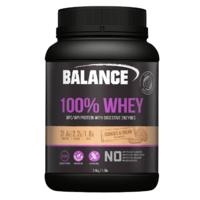 Balance 100% Whey Protein Powder - Cookies & Cream (2.4kg)