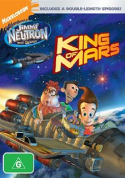 The Adventures of Jimmy Neutron - Boy Genius: King of Mars on DVD image