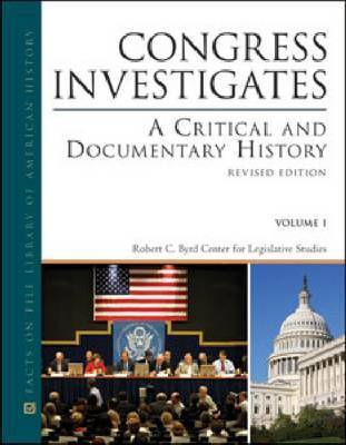 Congress Investigates by Robert C Evans