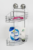 L.T. Williams - Chrome 2 Tier Corner Shower Caddy