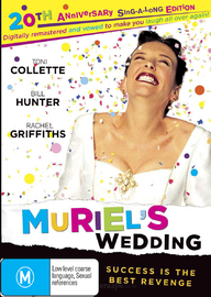 Muriel's Wedding - 20th Anniversary Edition on DVD