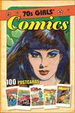 70s Girls Comics: 100 Postcards