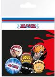 Bleach Pin Badges (6-Pack)