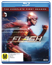 The Flash - The Complete First Season on Blu-ray