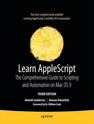 Learn AppleScript by Hanaan Rosenthal