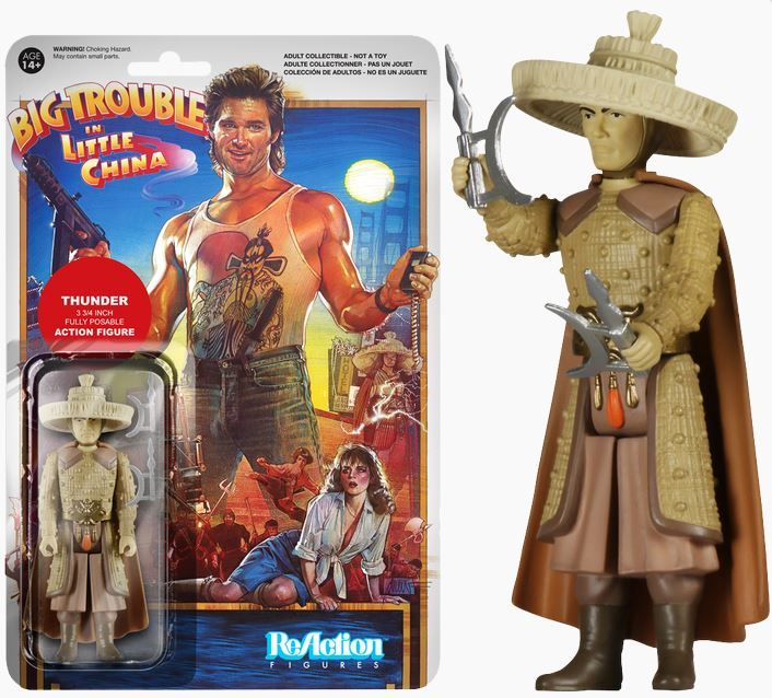 Big Trouble in Little China - Thunder ReAction Figure image