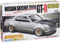 Fujimi: 1/24 Nissan KPGC10 Skyline GT-R (Rubber Soul No.17) - Model Kit