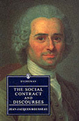 The Social Contract and Discourses by Jean Jacques Rousseau image