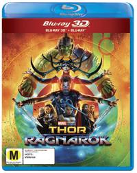 Thor: Ragnarok on 3D Blu-ray